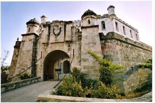 Entrada al tristemente célebre Castillo del Príncipe. La Habana.