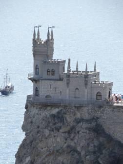 El Nido de las Golondrinas, símbolo de Crimea.