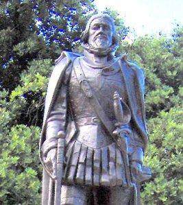 Monumento dedicado a Juan Ponce de León en la ciudad de Miami, La Florida. Foto: Milvia Méndez