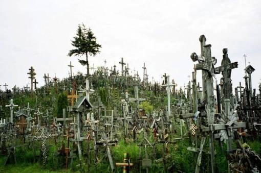 La Colina de las Cruces en Lituania.