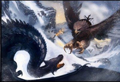 ¿Por qué China tiene como símbolo un dragon y Estados Unidos  el aguila?