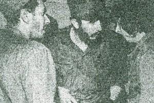 En la foto de la Revista Bohemia, 1959, el Dr. Armando Fleites, Fidel Castro y el Ché Guevara.